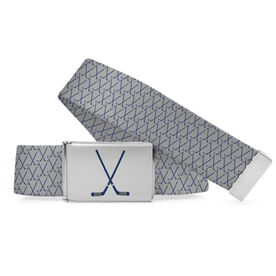 Hockey Lifestyle Belt Small Hockey Sticks Pattern