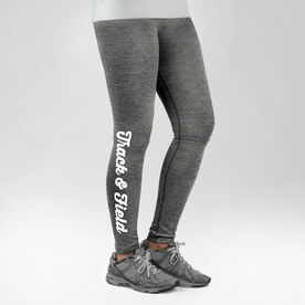 Track and Field Performance Tights Track & Field Script