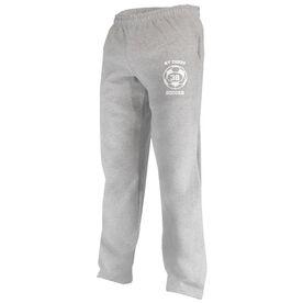Soccer Team & Number Fleece Sweatpants