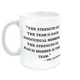 General Sports Ceramic Mug The Strength of the Team