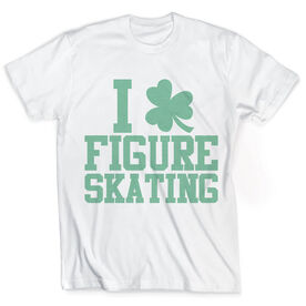 Vintage Figure Skating T-Shirt - I Shamrock Figure Skating
