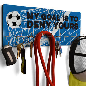 Soccer Hook Board Soccer My Goal is to Deny Yours