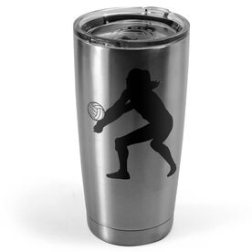 Volleyball 20 oz. Double Insulated Tumbler - Bump