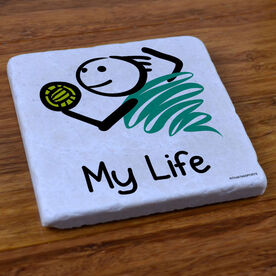 My Life Volleyball (Male) - Stone Coaster