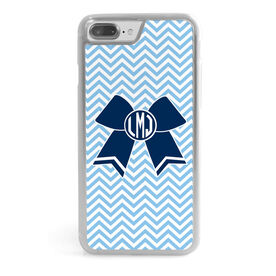 Cheerleading iPhone® Case - Monogrammed Cheer Bow