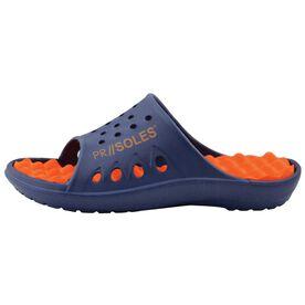 PR SOLES® Recovery Sandals - Navy/Orange