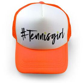 Tennis Trucker Hat - Hashtag Tennis Girl