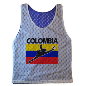 Guys Soccer Pinnie Colombia Soccer