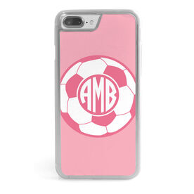 Soccer iPhone® Case - Monogrammed Soccer Ball