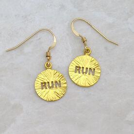 Livia Collection 14K Gold Vermeil Run Earrings