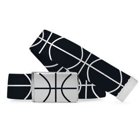 Basketball Lifestyle Belt Basketball Lines