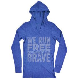 Women's Running Lightweight Performance Hoodie We Run Free