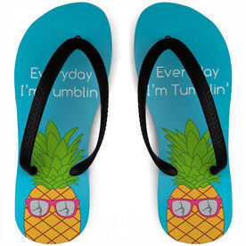 Gymnastics Flip Flops Tumblin' Pineapple