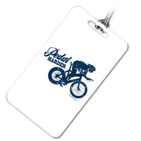 Pedal Harder Sport Bag/Luggage Tag