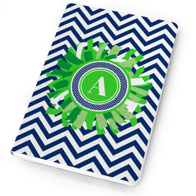 Cheerleading Notebook Single Letter Monogram