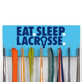 Guys Lacrosse Hooked on Medals Hanger - Eat Sleep Lacrosse