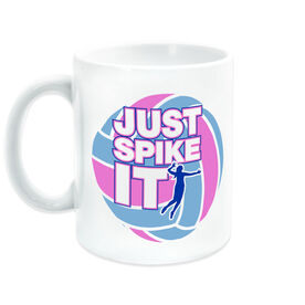 Volleyball Ceramic Mug Just Spike It