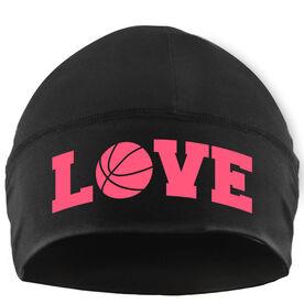Beanie Performance Hat - Basketball Love