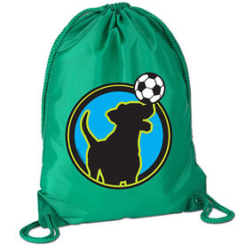 Soccer Dog Sport Pack Cinch Sack