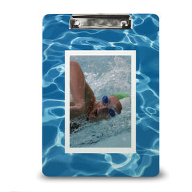 Swimming Custom Clipboard Swim Your Photo Water