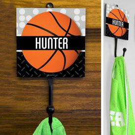 Basketball Hook Personalized 2 Tier Patterns with Basketball