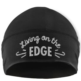 Beanie Performance Hat - Figure Skating Living On The Edge
