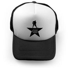Hockey Trucker Hat Star Player