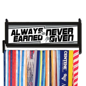 AthletesWALL Always Earned Never Given Hockey Medal Display