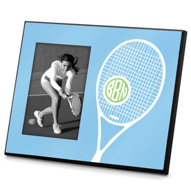 Tennis Photo Frame Monogrammed Tennis Life