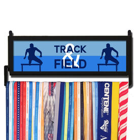 RunnersWALL Track and Field Hurdles Medal Display