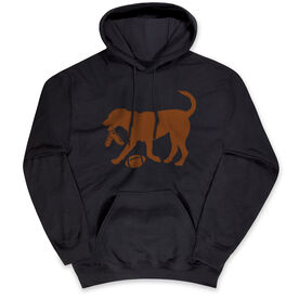 Football Standard Sweatshirt - Football Dog