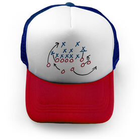 Football Trucker Hat The Play