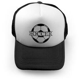 Soccer Trucker Hat - Crest