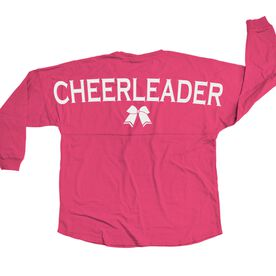 Cheerleading Statement Jersey Shirt Cheerleader