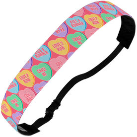 Julibands No-Slip Headbands Runner Candy Hearts