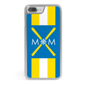 Skiing iPhone® Case - Mom With Crossed Skis