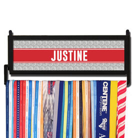 AthletesWALL Personalized Basketball Pattern Medal Display