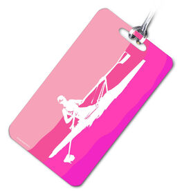Crew Bag/Luggage Tag Rower Pink
