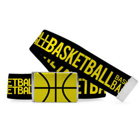 Basketball Lifestyle Belt Word Pattern
