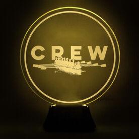 Crew Acrylic LED Lamp Boat