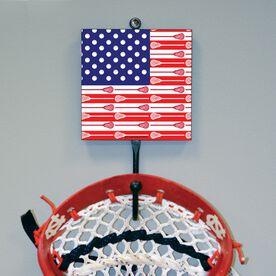 Lacrosse Hook - USA Flag