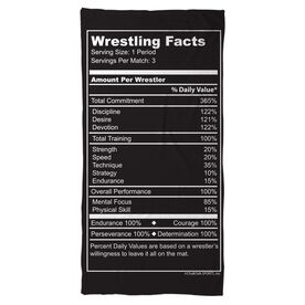 Wrestling Beach Towel Wrestling Facts