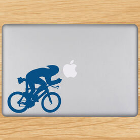 Tri Cyclist Removable TRIForeverGraphix Laptop Decal
