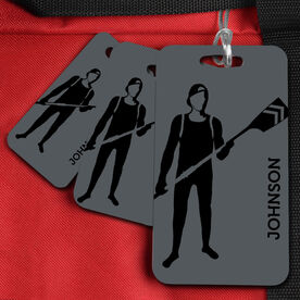 Crew Bag/Luggage Tag Personalized Rower