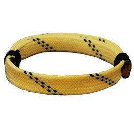 Sport Lace Bracelet Yellow Adjustable Lace Bracelet