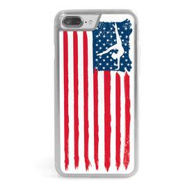 Gymnastics iPhone® Case - American Flag