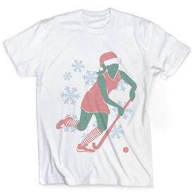 Vintage Field Hockey T-Shirt - Christmas