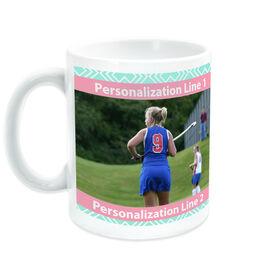 Field Hockey Ceramic Mug Custom Photo With Pattern