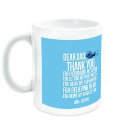 Track & Field Ceramic Mug Dear Dad