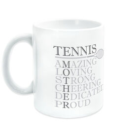 Tennis Ceramic Mug - Mother Words